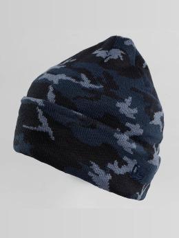 New Era Bonnet New Era Camo Cuff Beanie Open Market bleu