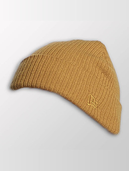 New Era Bonnet Lightweight Cuff Knit brun