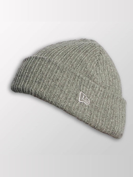 New Era Bonnet Wool Mixed Knit gris