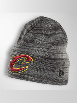 New Era Bonnet Shadow Tech Knit Cleveland Cavaliers gris