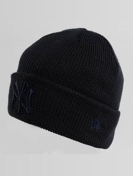 New Era Bonnet New Era Essential Waffle Knit NY Yankees Beanie noir