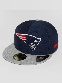 New Era Casquette Fitted Dryera Tech New England Patriots 59Fifty gris