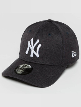 New Era Casquette Flex Fitted Team Heather NY Yankees bleu