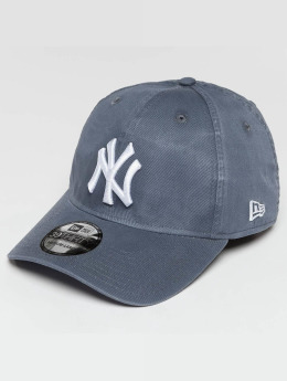 New Era Casquette Flex Fitted Washed NY Yankees 39Thirty gris