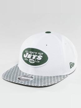 New Era Casquette Snapback & Strapback NFL On Field NY Jets 9Fifty blanc