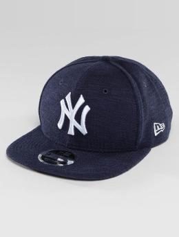 New Era Casquette Snapback & Strapback Slub NY Yankees 9Fifty bleu