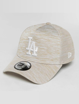 New Era Casquette Snapback & Strapback New Era Engineered Fit LA Dodgers gris