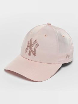 New Era | Satin NY Yankees magenta Homme,Femme Casquette Snapback & Strapback