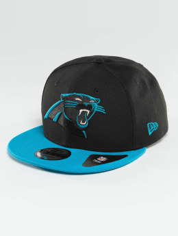 New Era Casquette Snapback & Strapback Carolina Panthers noir