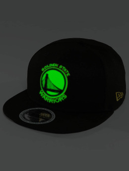 New Era Casquette Snapback & Strapback Team GITD Basic Golden State Warriors 9Fifty noir