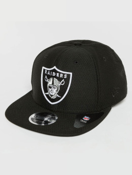 New Era Casquette Snapback & Strapback Dryera Tech Oakland Raiders 9Fifty noir