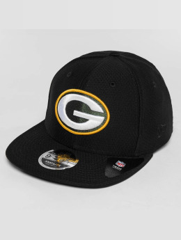 New Era Casquette Snapback & Strapback Dryera Tech Green Bay Packers noir