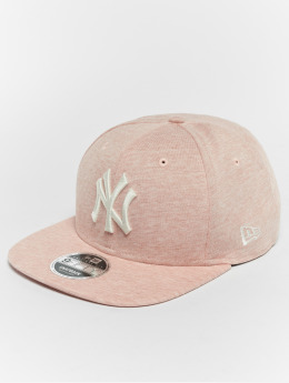 New Era Casquette Snapback & Strapback Jersey Brights NY Yankees 9Fifty rose