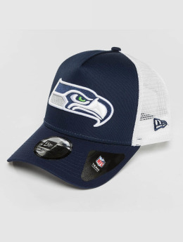 New Era Casquette Trucker mesh Team Essential Seattle Seahawks bleu