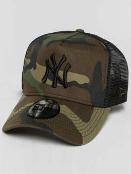 New Era Casquette Trucker mesh lean NY Yankees camouflage
