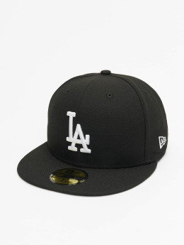 New Era Fitted Cap MLB Basic LA Dodgers 59Fifty èierna