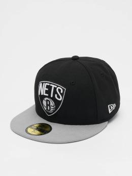 New Era Fitted Cap NBA Basic Brooklyn Nets 59Fifty čern
