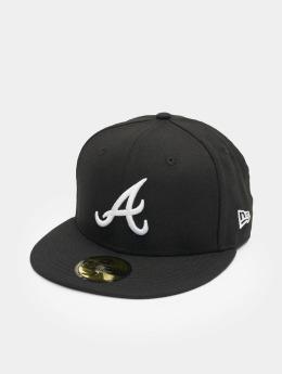 New Era Fitted Cap MLB Basic Atlanta 59Fifty black