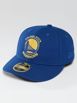 New Era Fitted Cap Team Classic Golden Stae Warriors blau
