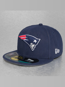 New Era Fitted Cap NFL On Field New England Patriots 59Fifty blau