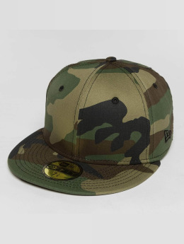 New Era Fitted Cap Script Patch 59Fifty camouflage