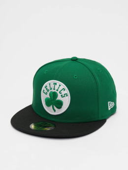 New Era Fitted Cap NBA Basic Boston Celtics 59Fifty grün