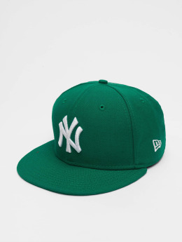 New Era Fitted Cap MLB Basic NY Yankees 59Fifty grün