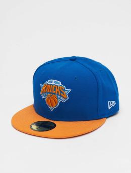 New Era Fitted Cap NBA Basic NY Knicks 59Fifty modrá