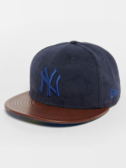 New Era Fitted Cap Faux New York Yankees 59Fifty modrý