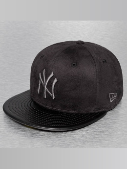 New Era Fitted Cap Faux NY Yankees schwarz