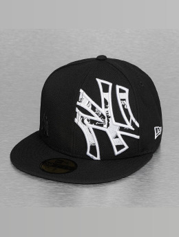 New Era Fitted Cap C-Note Insider NY Yankees 59Fifty schwarz