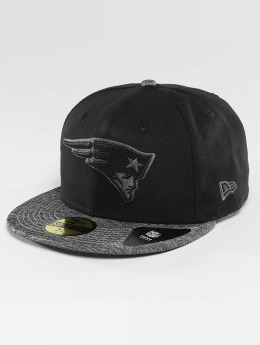 New Era Fitted Cap Grey Collection New England Patriots 59Fifty schwarz