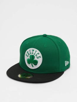 New Era Fitted Cap NBA Basic Boston Celtics 59Fifty zielony