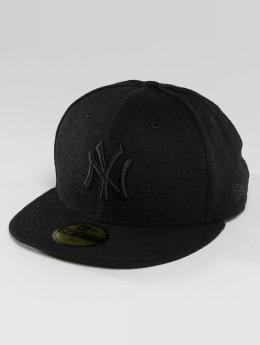 New Era Fitted Cap Slub NY Yankees 59Fifty zwart