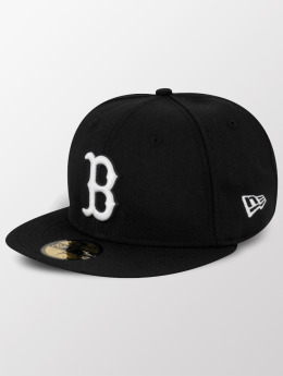 New Era Fitted Cap MLB Basic Boston Red Sox Pitching zwart