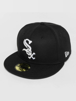 New Era Fitted Cap Acperf Chicago White Sox 59Fifty zwart