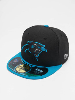 New Era Fitted Cap NFL On Field Carolina Panthers  zwart