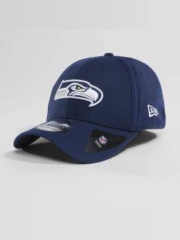 New Era Flexfitted Cap Team Poly Seattle Seahawks 9Fifty blauw