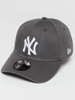 New Era Flexfitted Cap Washed NY Yankees 39Thirty grau