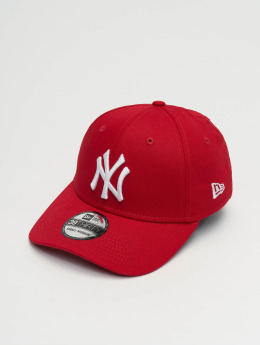 New Era Männer,Frauen Flexfitted Cap League Basic NY Yankees 39Thirty in rot