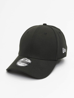 New Era Flexfitted Cap Basic zwart