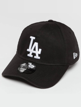 New Era Flexfitted Cap Washed LA Dodgers 39Thirty zwart