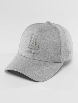 New Era Flexfitted-lippikset MLB Heather LA Dodgers 39Thirty harmaa