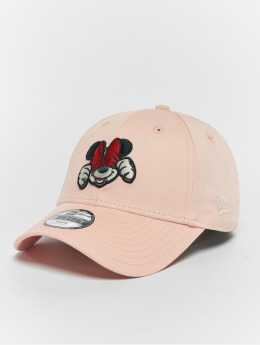 New Era Gorra Snapback Minnie Mouse fucsia