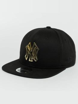 New Era Gorra Snapback Metal Badge NY Yankees negro