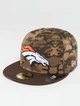 New Era Hip hop -lippikset Camo Team Denver Broncos 59Fifty camouflage