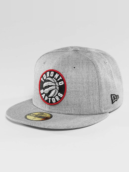 New Era Hip hop -lippikset NBA Toronto Raptors Heather Fitted harmaa