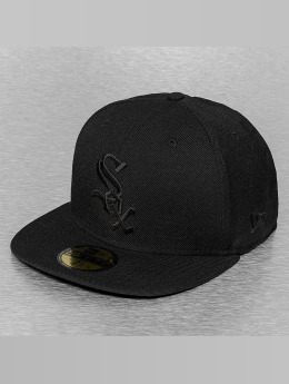 New Era Hip hop -lippikset Black On Black Chicago White Sox musta