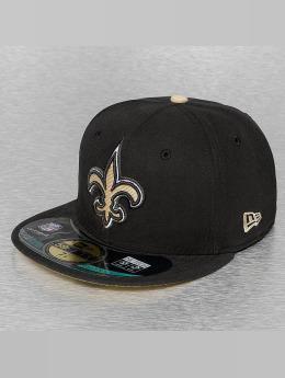New Era Hip hop -lippikset NFL On Field New Orleans Saints 59Fifty musta