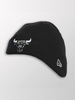 New Era Luer Reflect Cuff Knit Chicago Bulls svart